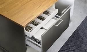 Tiroir Ikea Cuisine : cuisine ikea metod marie claire ~ Mglfilm.com Idées de Décoration