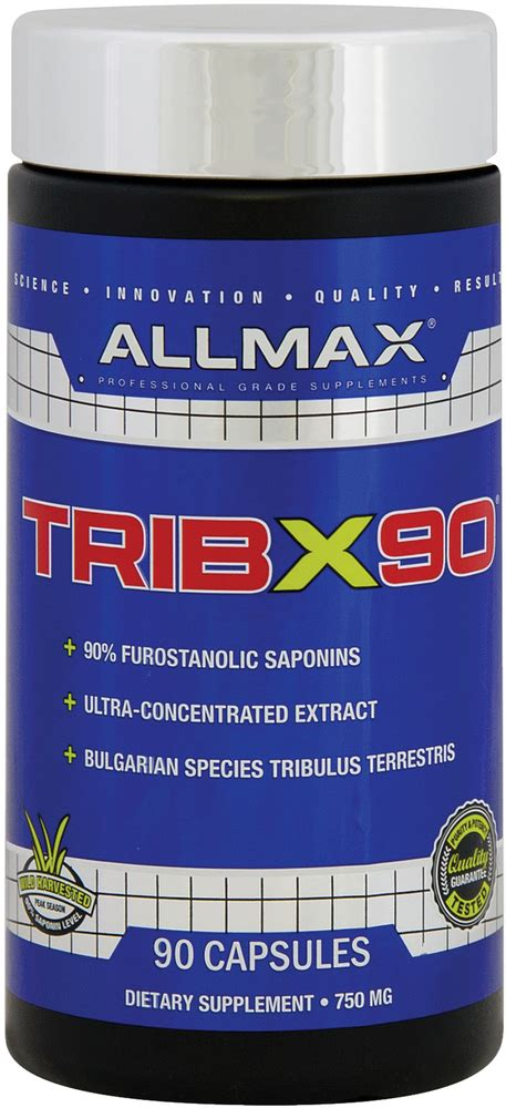 TribX90, 750 mg, 90 Capsules | Piping Rock Health Products