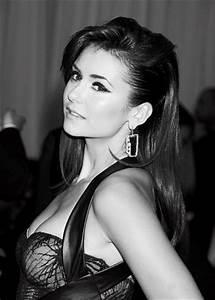 Nina Dobrev images Black -White wallpaper and background ...