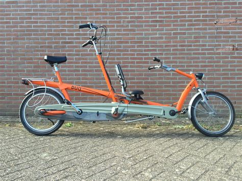 doove duofiets ouder kind tandem dv mobility