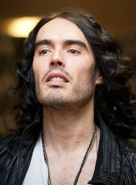 Russell Brand In Russel Brand Poses With Fans Zimbio