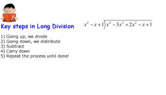 a division problem polynomial division chilimath