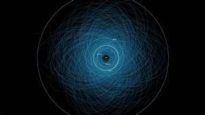 Map Monday: Earth's collision course with asteroids - htxt ...