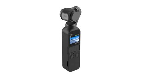 dji osmo pocket launched  worlds smallest  axis stabilised camera  counter gopro hero