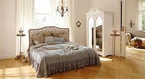 Schlafzimmer Französischer Stil : einrichtungsidee franz sischer schlafzimmer traum loberon ~ Sanjose-hotels-ca.com Haus und Dekorationen