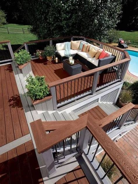 amazing patio  deck designs patio  deck designs