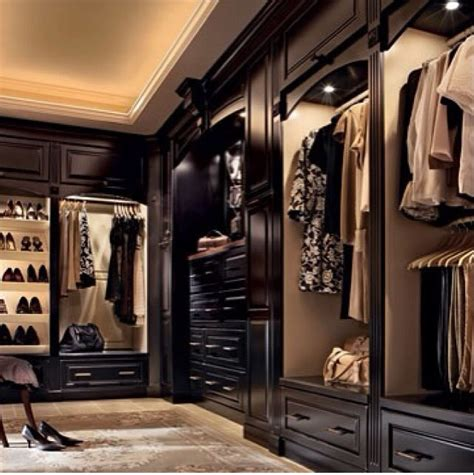 Black Wood Wardrobe Closet by Wood Walk In Closet For The Home Luxury Closet