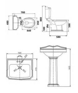 Toilet Technical Drawings