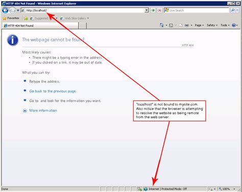 project localhost setting up a localhost windows server 2008 in order to help isolate