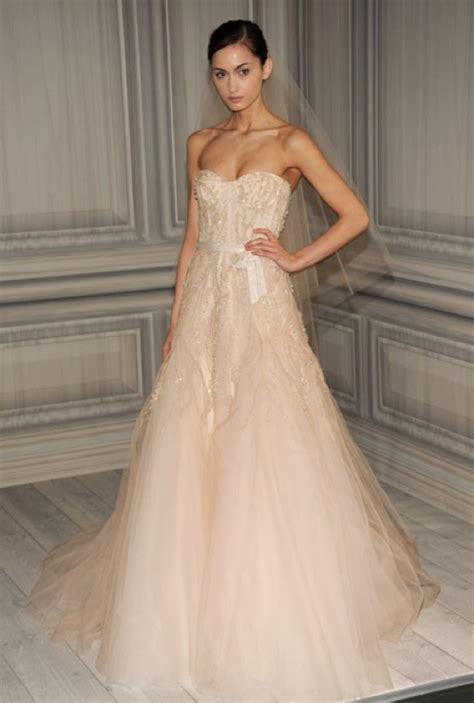 blush colored wedding gowns 2012 wedding dress trends weddings by lilly