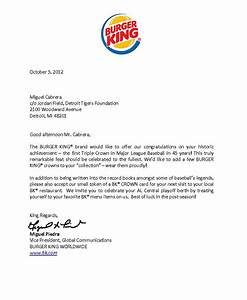 Burger King Sends Three Crowns To Cabrera - Dollars