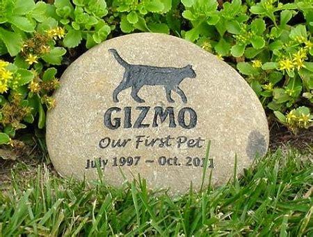 pet memorial garden stones memorial stones for cats and cat grave markers