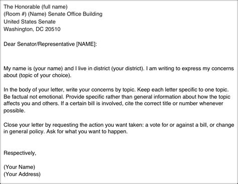 how to write a letter to a congressman take lawyers committee for civil rights
