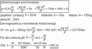 Newtonmeter Berechnen : oberstufe l sung der aufgaben zu arbeit leistung und dem wirkungsgrad i ~ Themetempest.com Abrechnung