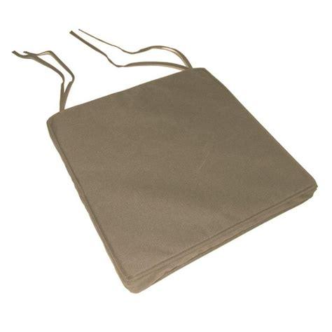 chaise largeur 40 cm galette de chaise impermeable dehoussable beige achat vente coussin de chaise 100 polyester