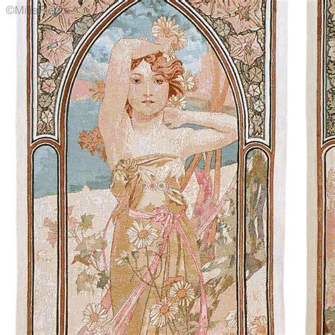 Tapisserie Mucha by Les Quatre Heures De La Journ 233 E Alfons Mucha