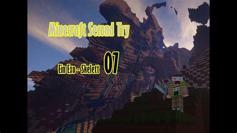 Minecraft Second Try Ice Ein Exo Skelett Attack