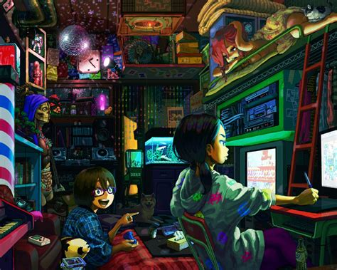 Anime Gamer Wallpaper - anime gamer wallpaper hd 21383 baltana