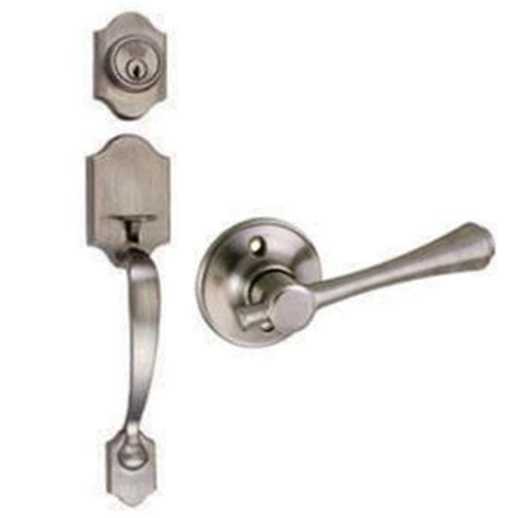 design house sussex entry door handleset with single