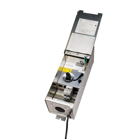 pro series 75w transformer stainless steel kichler lighting