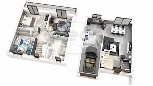 maison iris With lovely plan maison 3d gratuit 1 maison familale detail du plan de maison familale