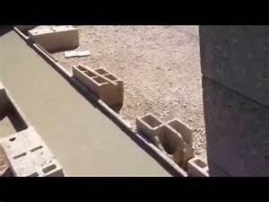 Fondation Pour Portail Coulissant : guide un exemple pour seuil de portail ou fondation youtube ~ Dailycaller-alerts.com Idées de Décoration
