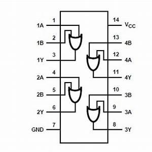 74hc32- Quad 2-input Or Gate