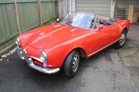 Alfa Romeo Spiders For Sale by 1961 Alfa Romeo Spider Normale 101 For Sale