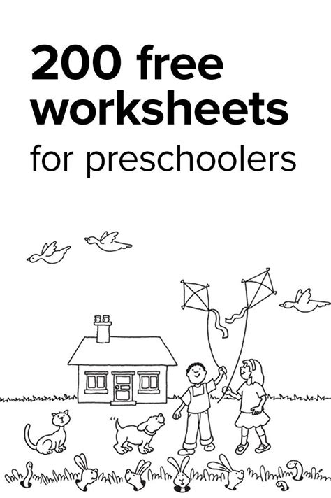 kindergarten math worksheets and 3 more makes