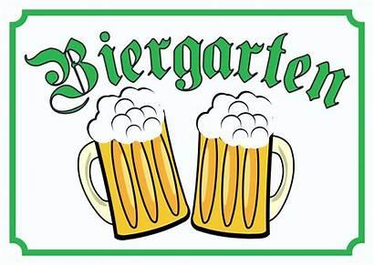Biergarten Schild Schilder Clipart Kommt Sommer Bier