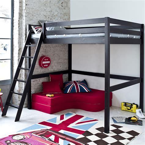 chambre avec lit mezzanine 2 places lit enfant mezzanine avec galerie et chambre avec lit