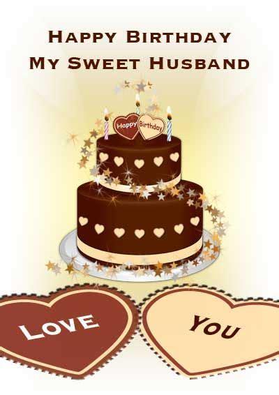 printable birthday card  husband   printable
