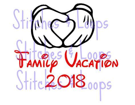 178 free images of disneyland. 2018 Family Vacation Mickey Custom Disney SVG File for Cricut