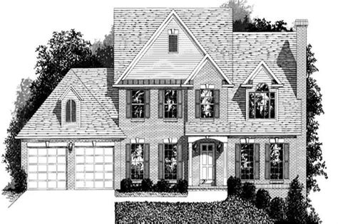 colonial small home   bedrms  sq ft plan