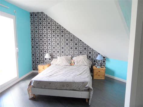 comment peindre ma chambre chambre mansardee quel mur peindre inspirations avec