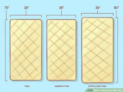 measure bed size  steps  pictures wikihow
