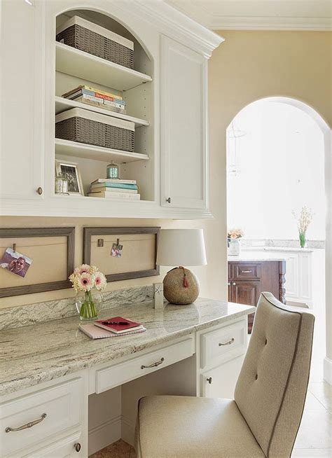desk in kitchen design ideas family home interior design ideas home bunch interior