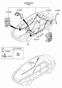 2008 Kia Optima Old Body Style Wiring Harness