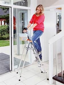 Stehleiter 8 Stufen : krause leiter safety haushaltsleiter stehleiter 8 stufen ~ Buech-reservation.com Haus und Dekorationen