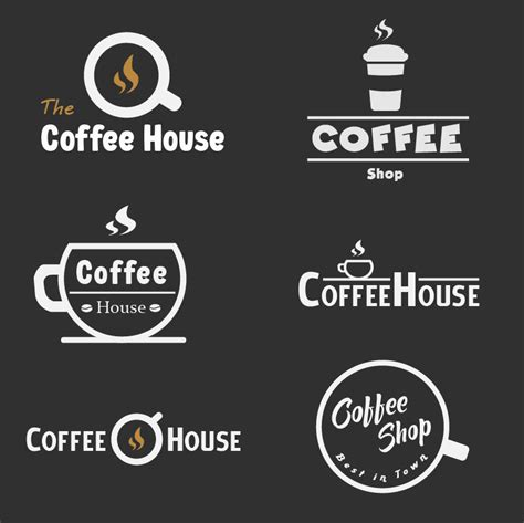 What's better than sitting at your local coffee shop, ordering a cup (or three), and cracking open a book? Coffee Shop Logo Design on Behance