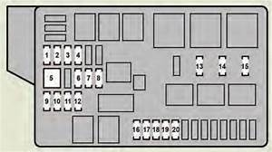 Lexus Gs460  2008 - 2009  - Fuse Box Diagram