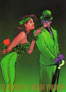 Riddler and Poison Ivy Costume
