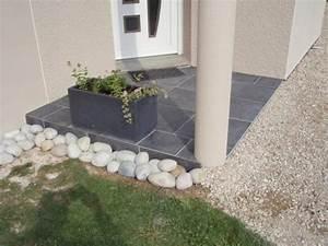 Porche Entrée Maison : carrelage du porche d 39 entr e blog de sebastlysou ~ Premium-room.com Idées de Décoration