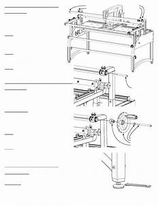 Baby Lock Momentum Quilting Frame  Blqm  Instruction And