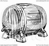 Barrel Beer Keg Illustration Vector Clipart Sketched Royalty Tradition Sm Clip Collc0169 sketch template