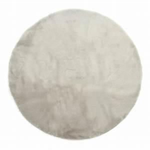 tapis rond gris clair gris clair pilepoil design enfant With tapis poil gris clair