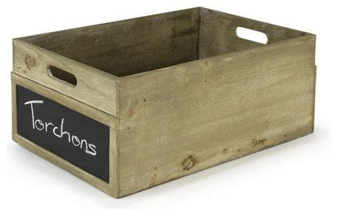 bac de rangement bois clint boite rectangulaire en bois grand mod 232 le montagne bac et bo 238 te de rangement par