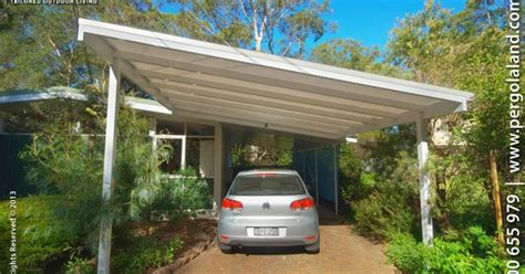slanted attached roof carports aluminium frame carports colorbond steel frame carports