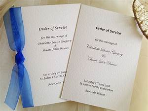 large order of service books from gbp175 With wedding invitation printing services uk