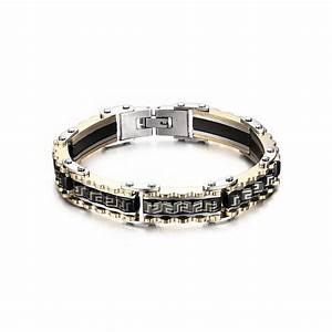 8a281450912 Bracelet Homme Acier. bracelet homme cuir 3cordons perles croix ...